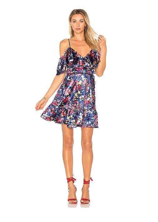 hermosaz mini vestido colorido