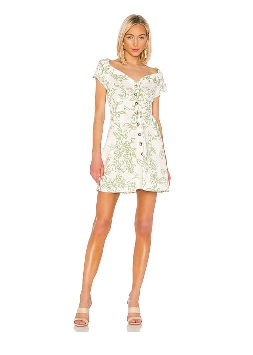 hermosaz vestido blanco corto